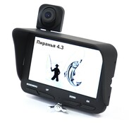 Камера для рыбалки Пиранья 4.3 с двумя камерами
